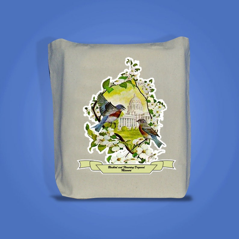 Missouri  Art of the State Totebags image 0