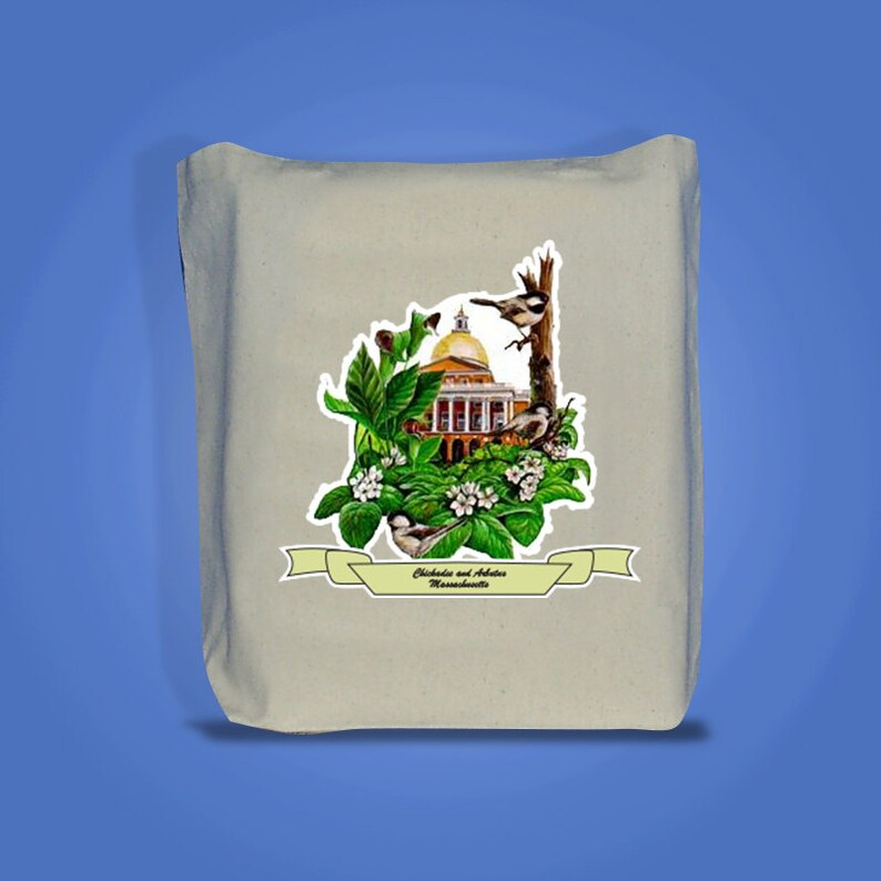 Massachusetts  Art of the State Totebags image 0