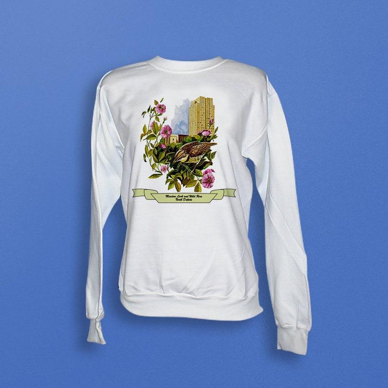 North Dakota  Art of the State Sweatshirt image 0