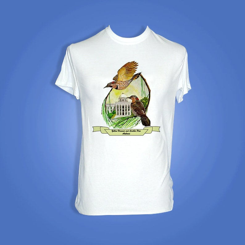 Alabama  Art of the State T-Shirts image 0