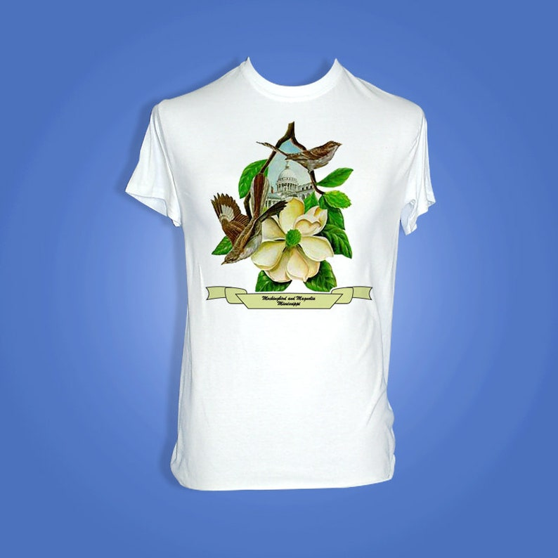 Mississippi  Art of the State T-Shirts image 0