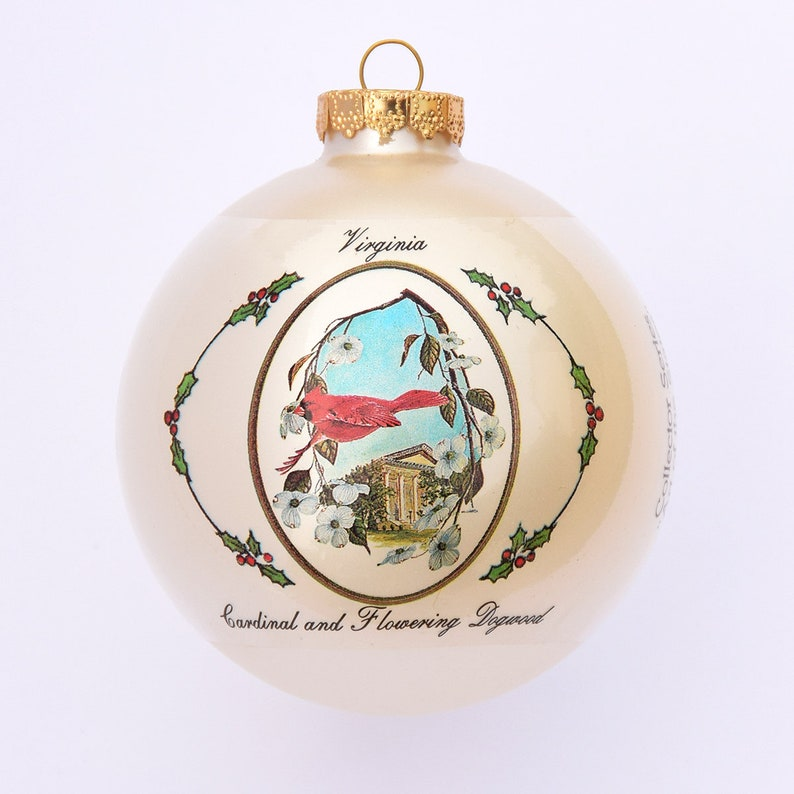 Virginia  Art of the States Christmas Ornaments image 0