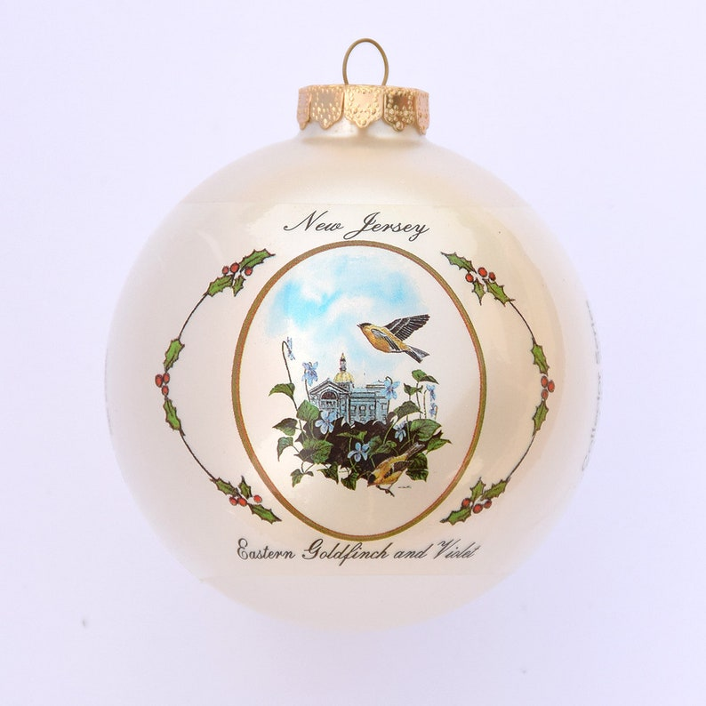 New Jersey  Art of the States Christmas Ornaments image 0