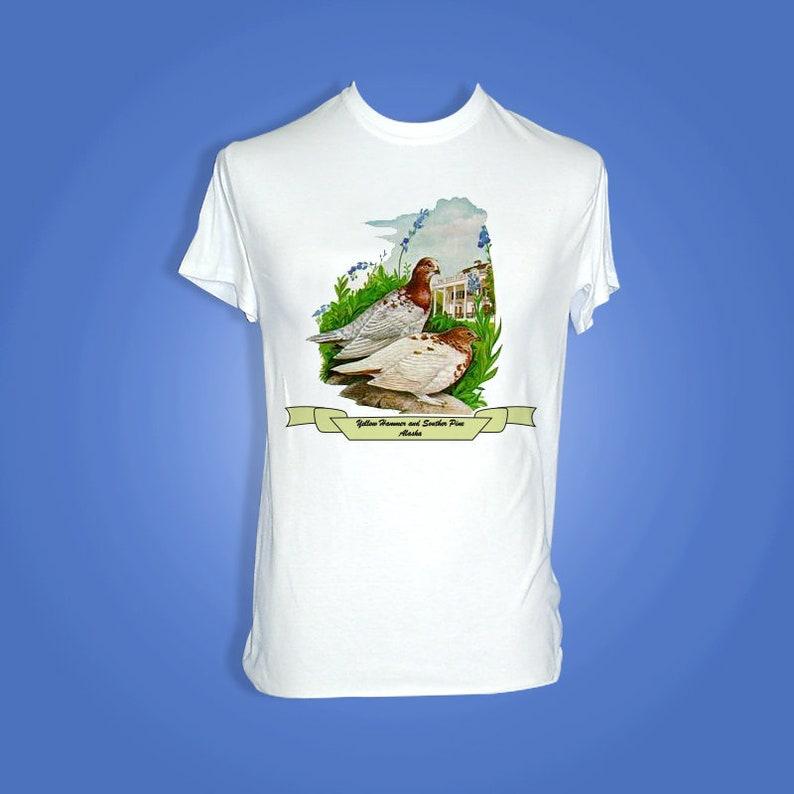 Alaska  Art of the State T-Shirts image 0
