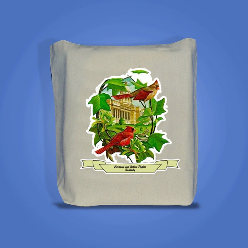 Kentucky  Art of the State Totebags image 0