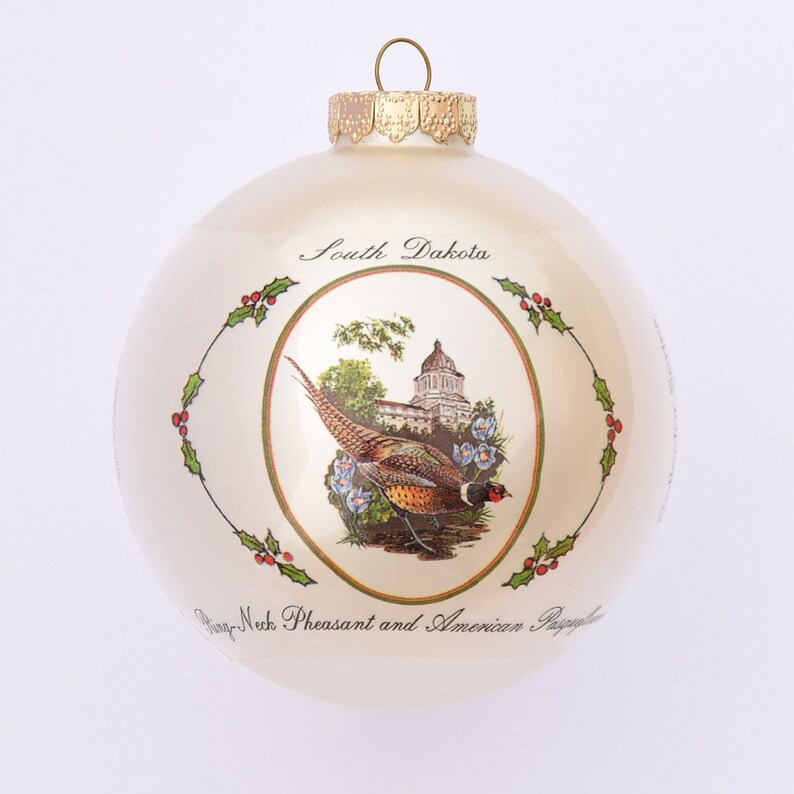 South Dakota  Art of the States Christmas Ornaments image 0