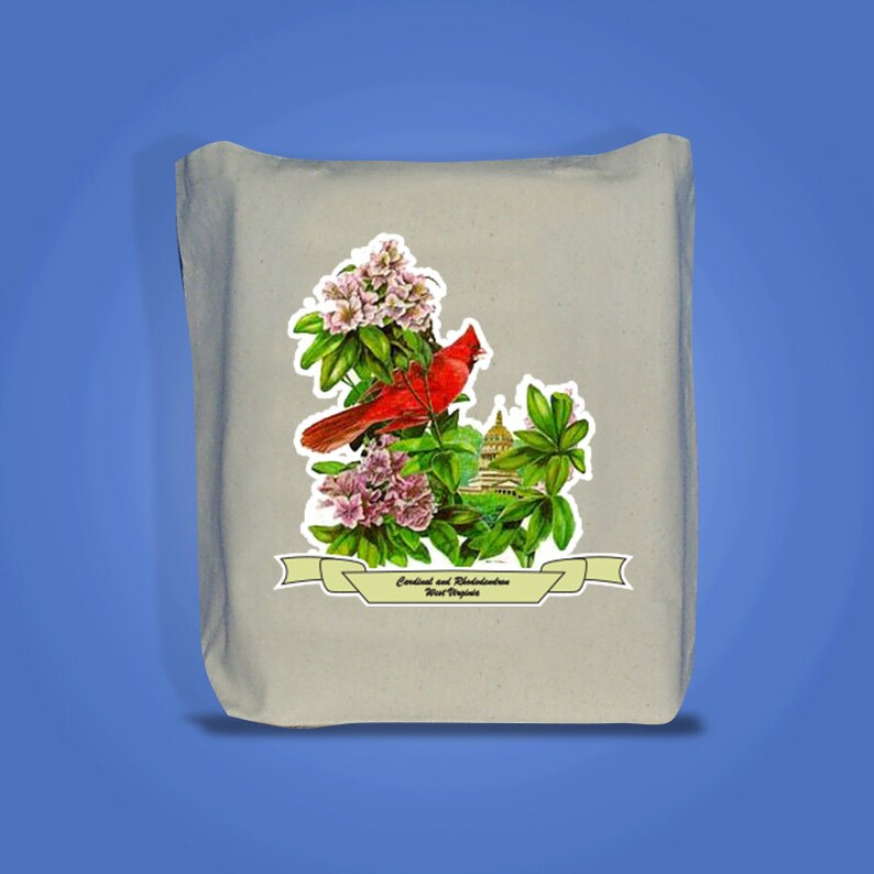 West Virginia  Art of the State Totebags image 0