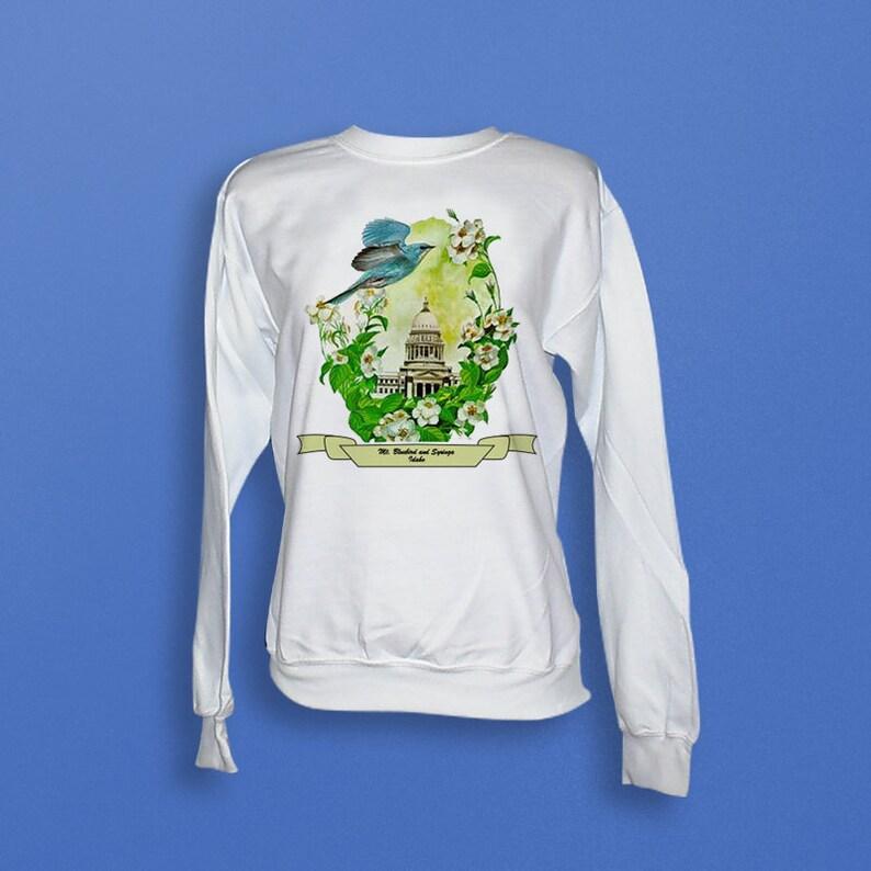 Idaho  Art of the State Sweatshirt image 0