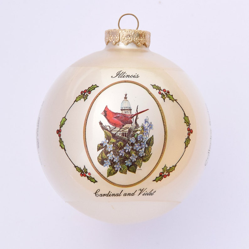Illinois  Art of the States Christmas Ornaments image 0