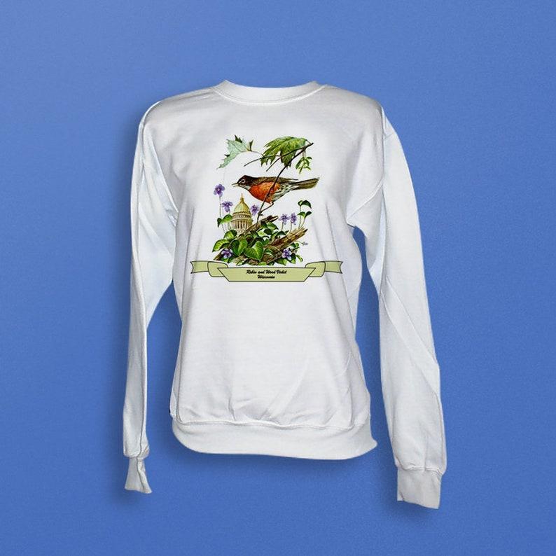Wisconsin  Art of the State Sweatshirt image 0