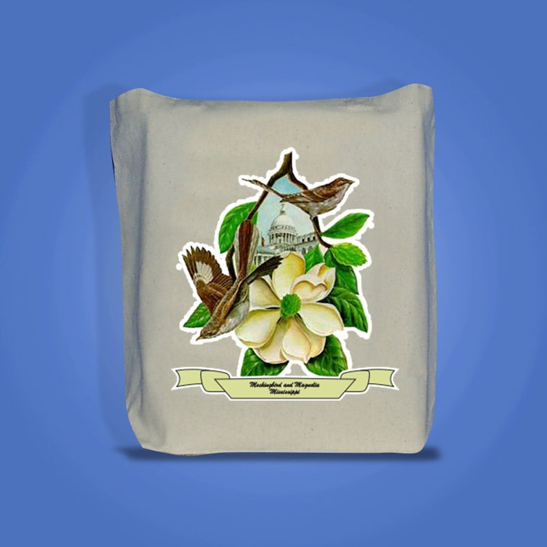 Mississippi  Art of the State Totebags image 0