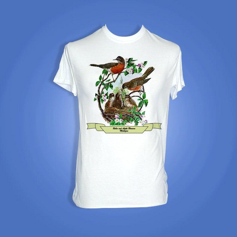 Michigan  Art of the State T-Shirts image 0