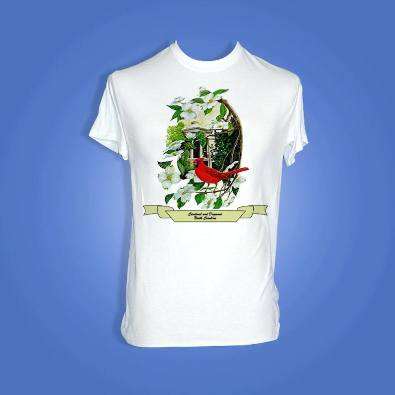 North Carolina  Art of the States T-Shirt image 0