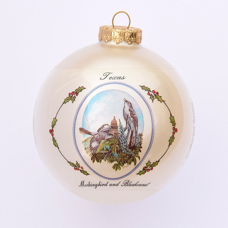 Texas  Art of the States Christmas Ornaments image 0