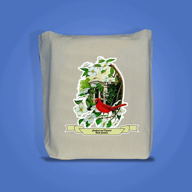 North Carolina  Art of the State Totebags image 0