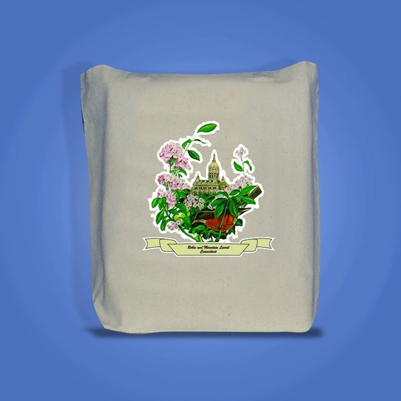 Connecticut Art of the State Totebags image 0
