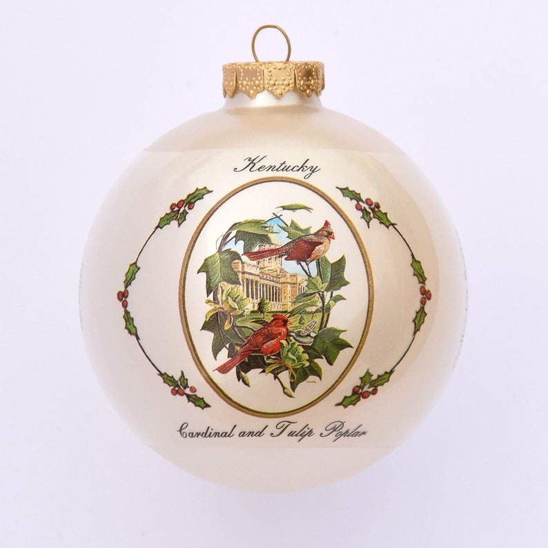 Kentucky  Art of the States Christmas Ornaments image 0