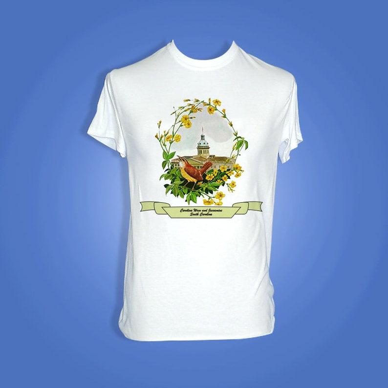 South Carolina  Art of the State T-Shirts image 0