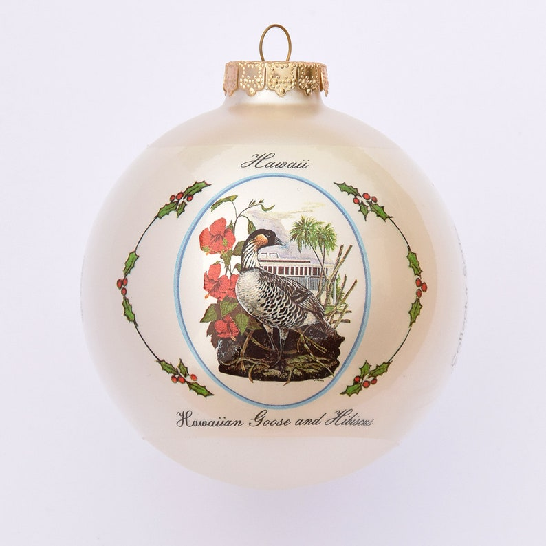 Hawaii  Art of the States Christmas Ornaments image 0
