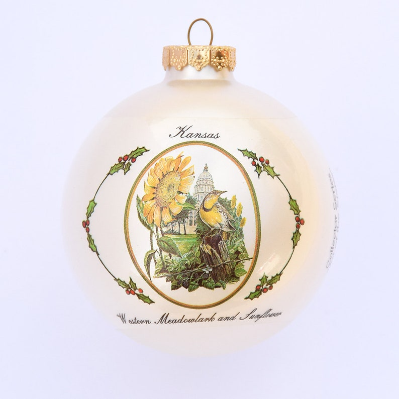Kansas  Art of the States Christmas Ornaments image 0