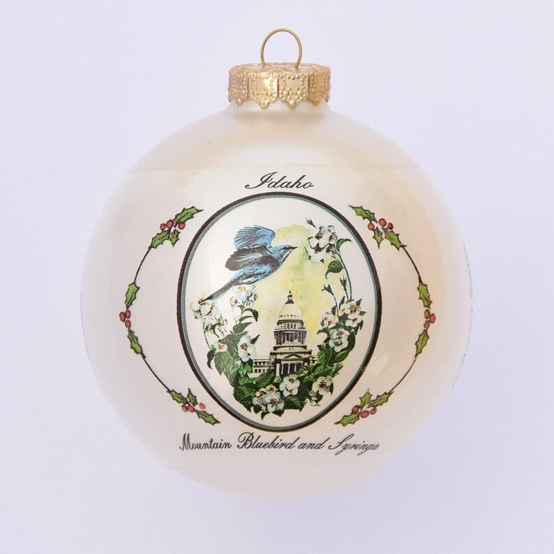 Idaho  Art of the States Christmas Ornaments image 0