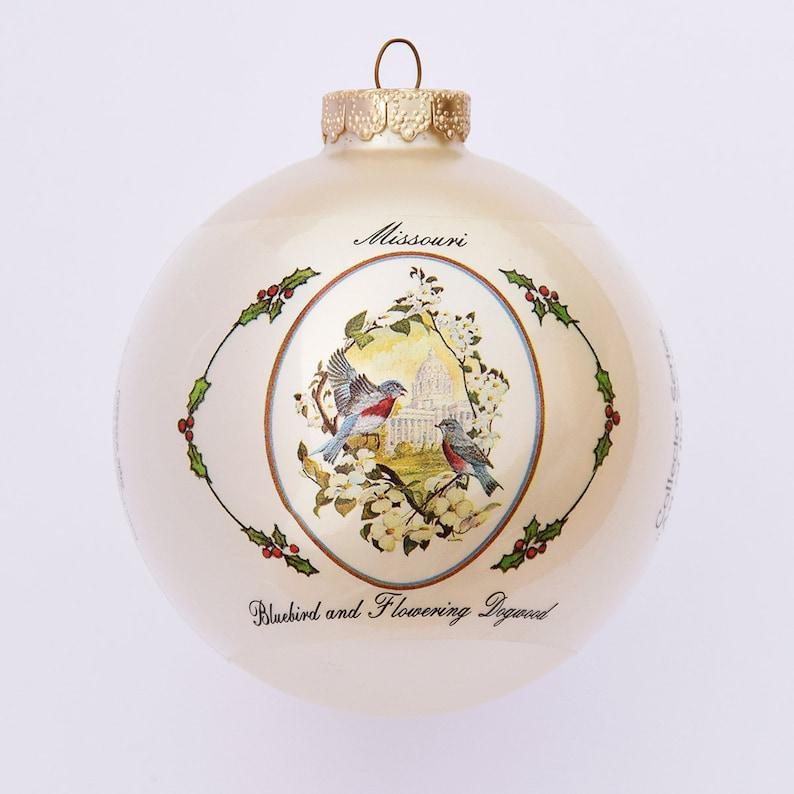 Missouri  Art of the States Christmas Ornaments image 0