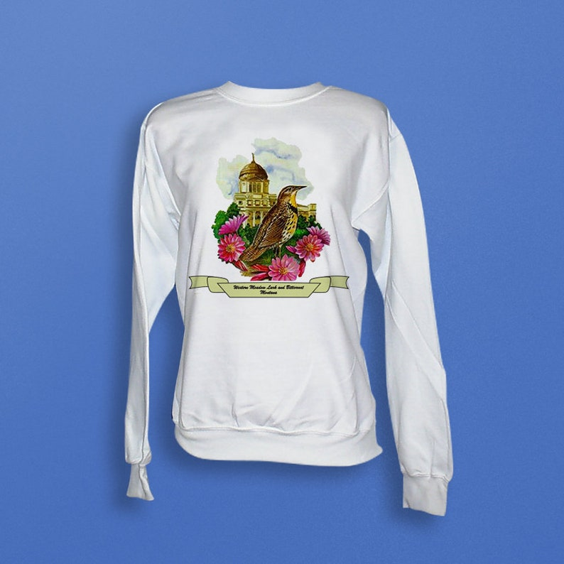 Montana  Art of the State Sweatshirt image 0