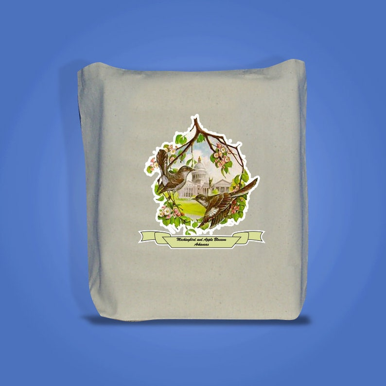Arkansas  Art of the State Totebags image 0