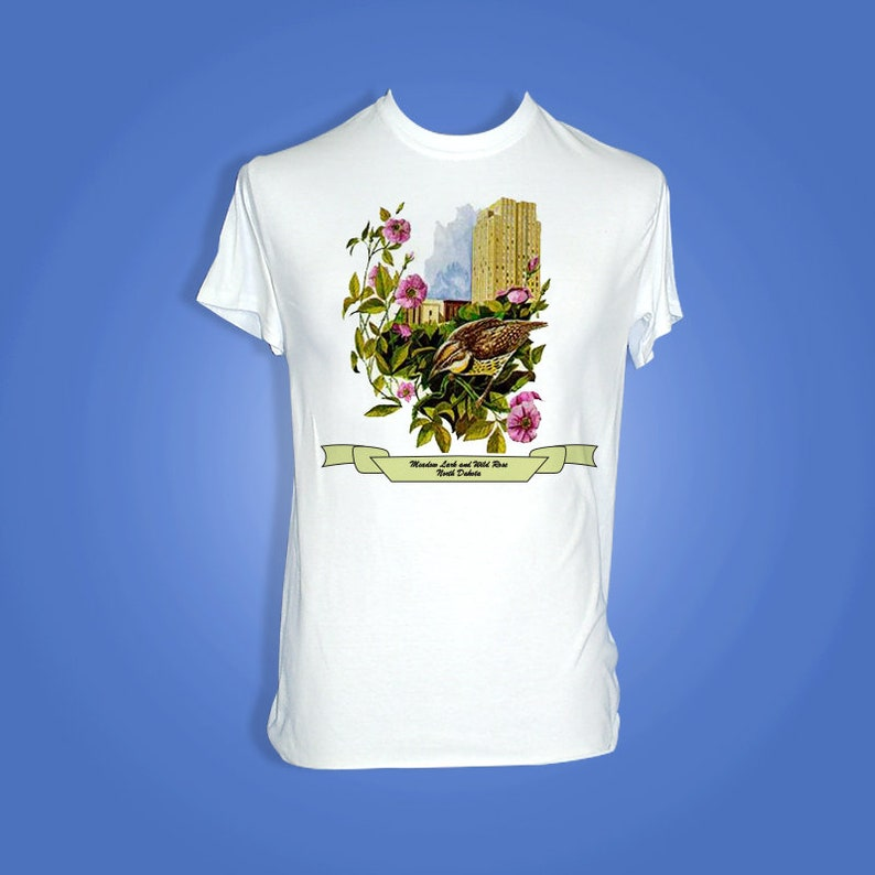 North Dakota  Art of the State T-Shirts image 0