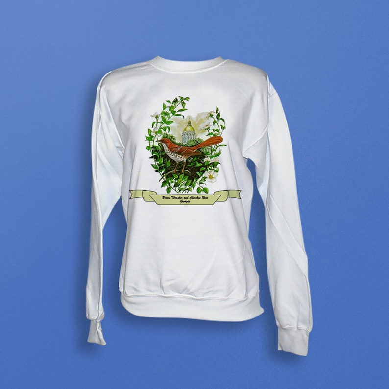 Georgia  Art of the State Sweatshirt image 0
