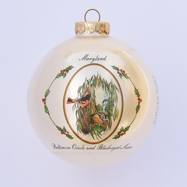 Maryland  Art of the States Christmas Ornaments image 0