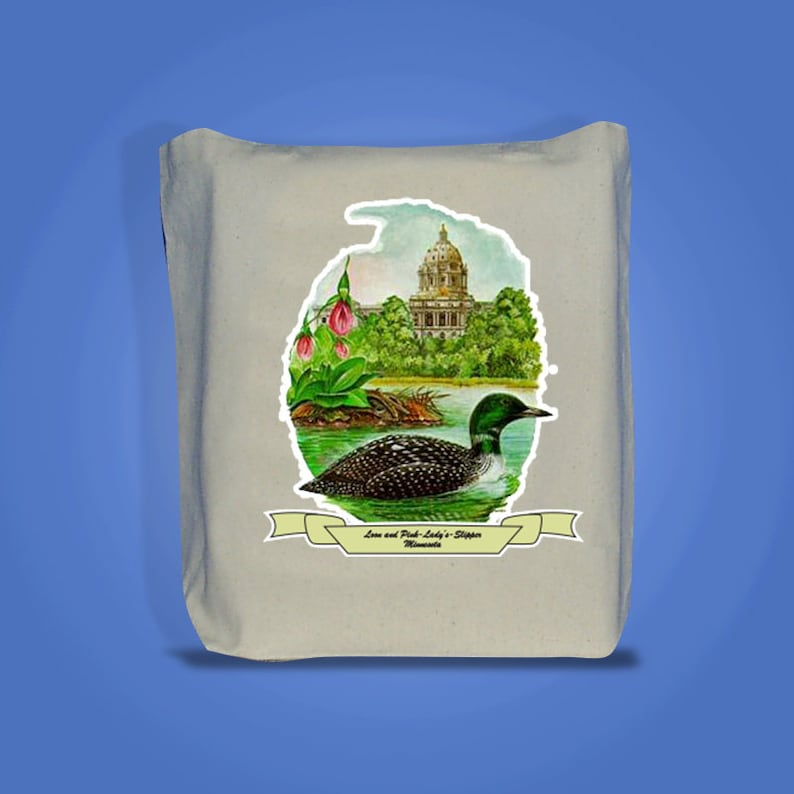 Minnesota  Art of the State Totebags image 0