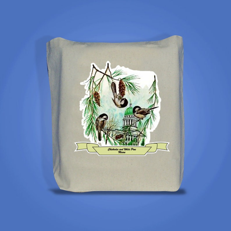 Maine  Art of the State Totebags image 0