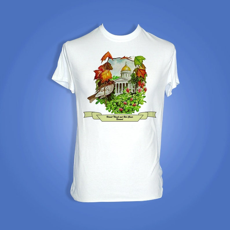 Vermont  Art of the State T-Shirts image 0