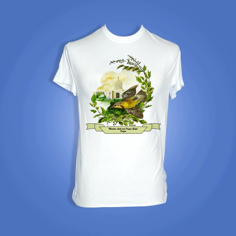 Oregon  Art of the State T-Shirts image 0