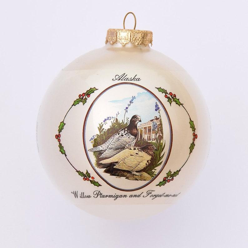 Alaska  Art of the States Christmas Ornaments image 0
