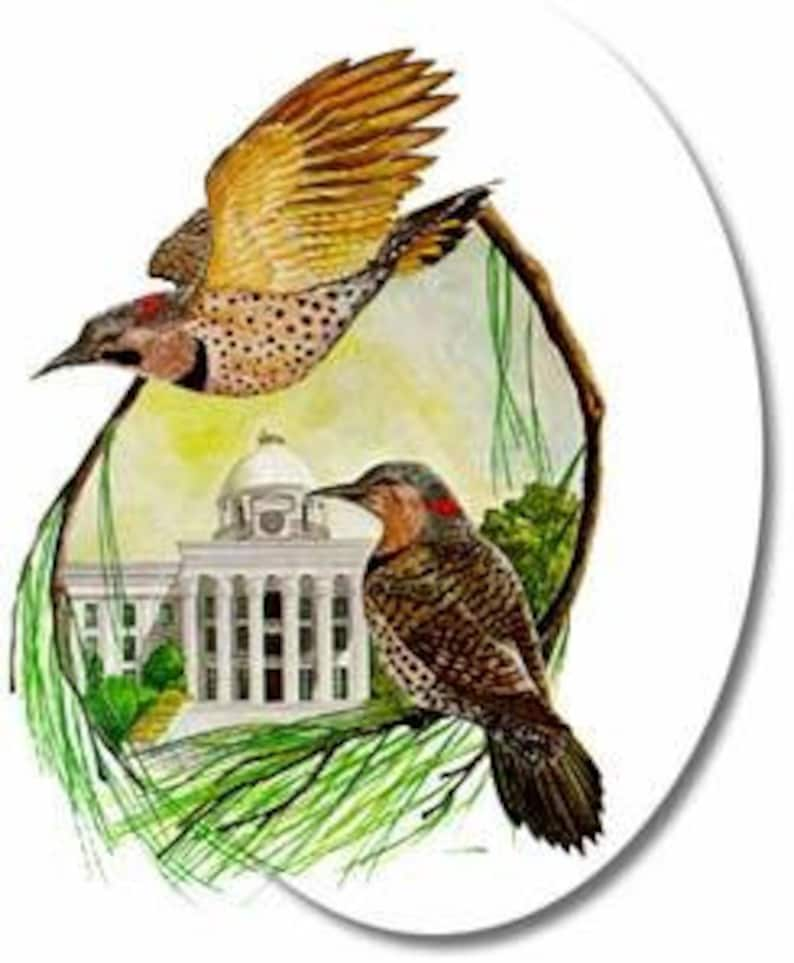 Alabama  Art of the State Limited Edition Prints image 0