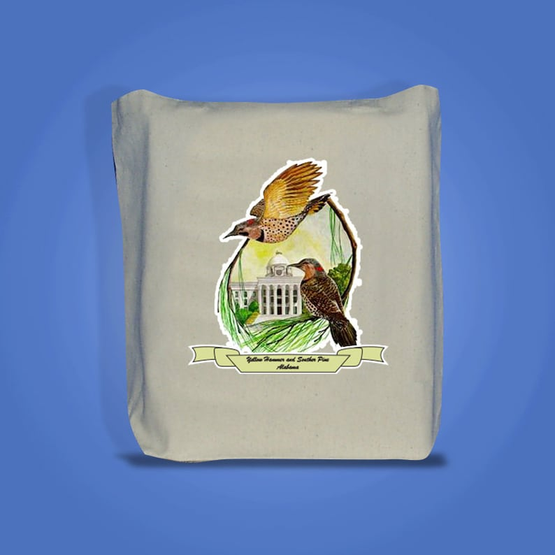Alabama  Art of the State Totebags image 0
