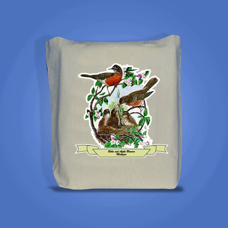 Michigan  Art of the State Totebags image 0