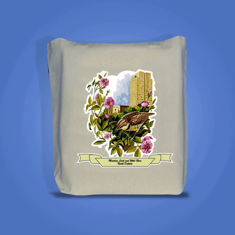 North Dakota  Art of the State Totebags  image 0