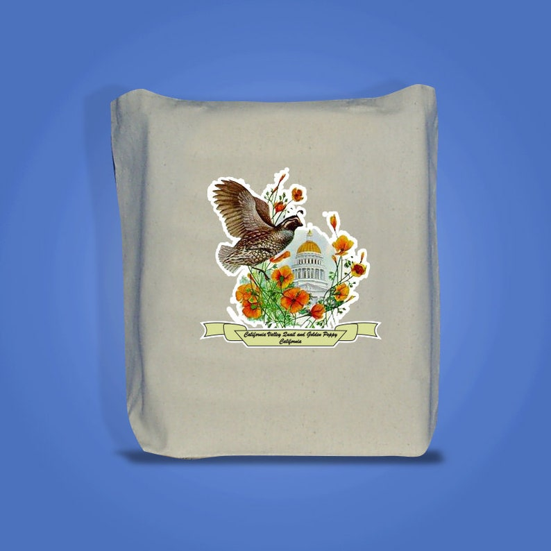 California  Art of the State Totebags image 0
