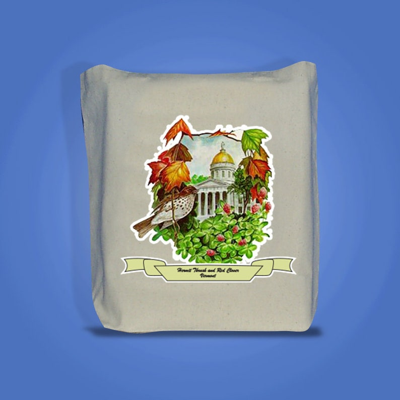 Vermont  Art of the State Totebags image 0