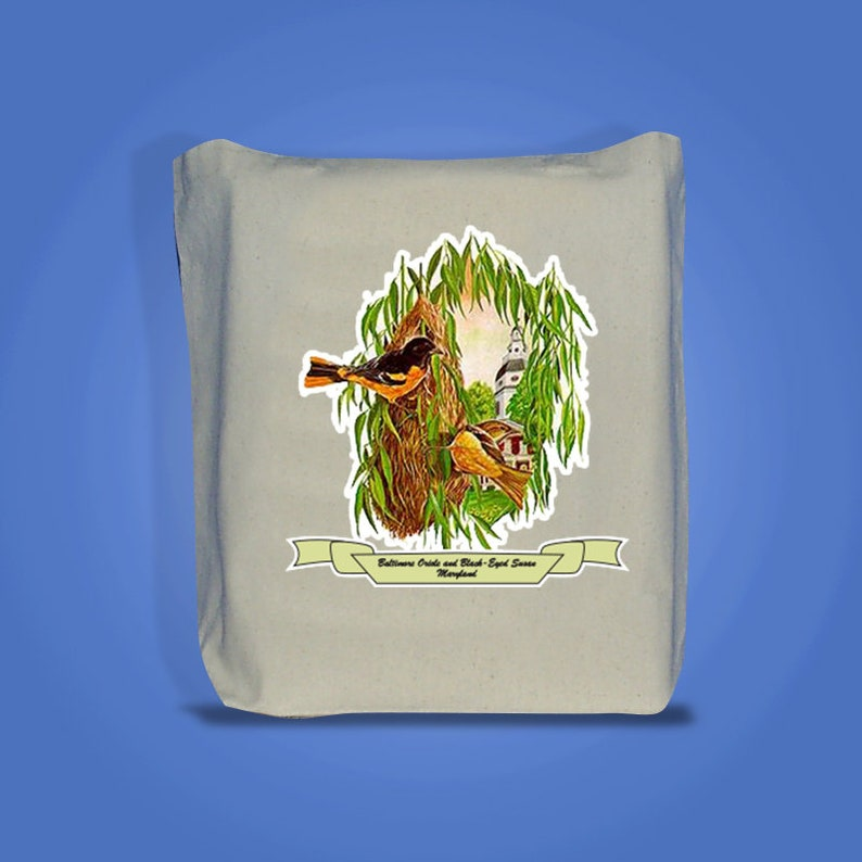 Maryland  Art of the State Totebags image 0