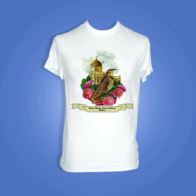 Montana  Art of the State T-Shirts image 0