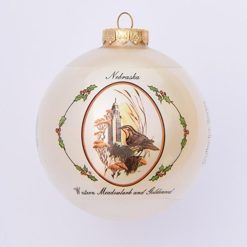 Nebraska  Art of the States Christmas Ornaments image 0