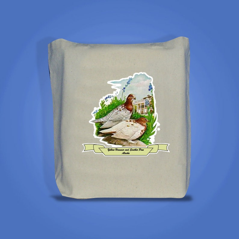 Alaska  Art of the State Totebags image 0