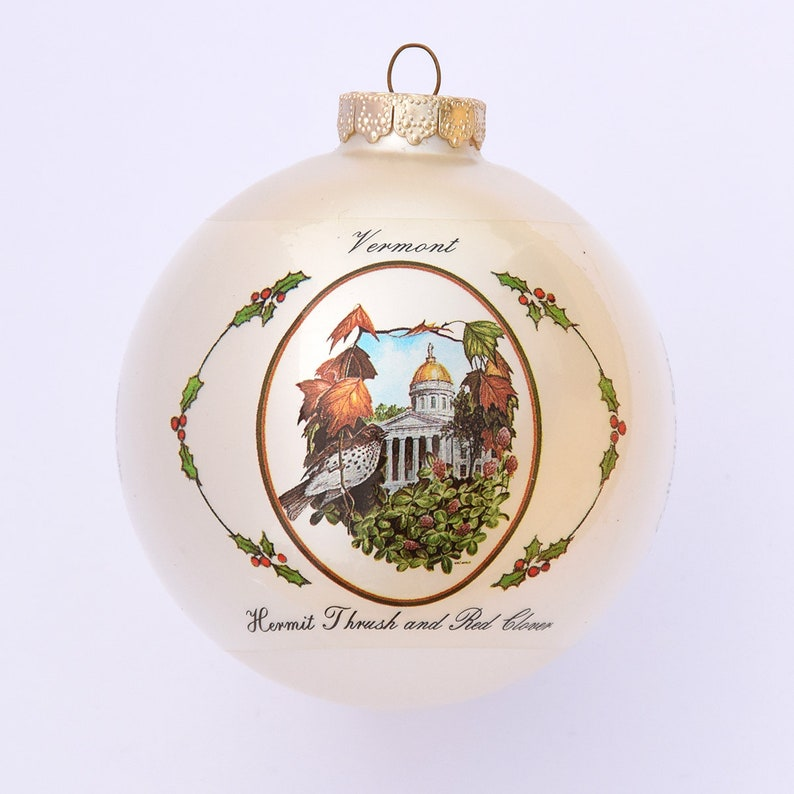 Vermont  Art of the States Christmas Ornaments image 0