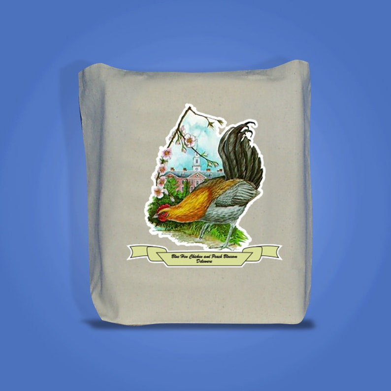 Delaware  Art of the State Totebags image 0