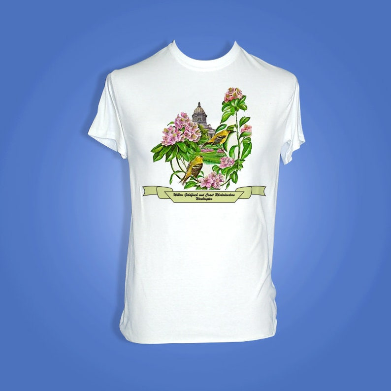 Washington  Art of the State T-Shirts image 0