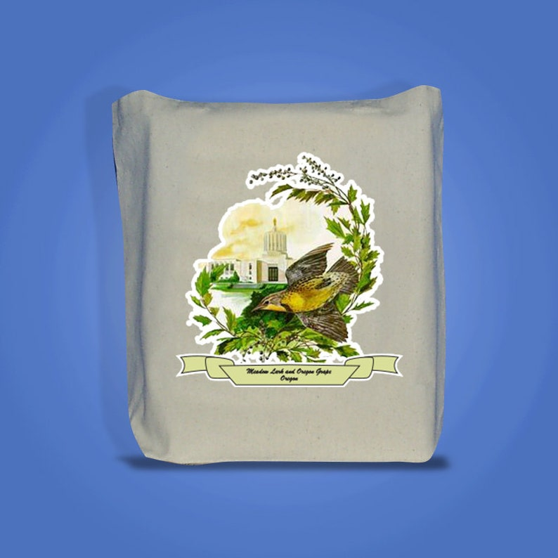 Oregon  Art of the State Totebags image 0